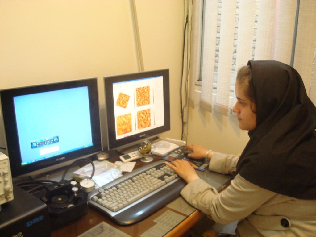 آزمایشگاه میکروسکوپ پروبی روبشی