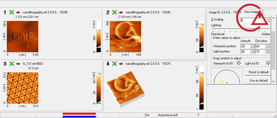 نرم افزار میکروسکوپ پروبی روبشی نسخه 2