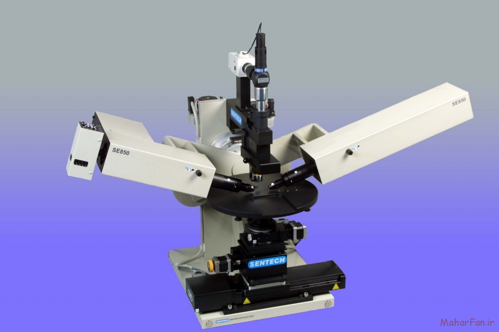 دستگاه بیضی سنج برای بررسی نانولایه