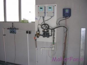 آنالایزر آنلاین نصب شده در صنایع نفت در کولینگ تاور