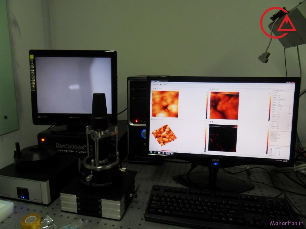 میکروسکوپ پروبی روبشی دانشگاه تبریز