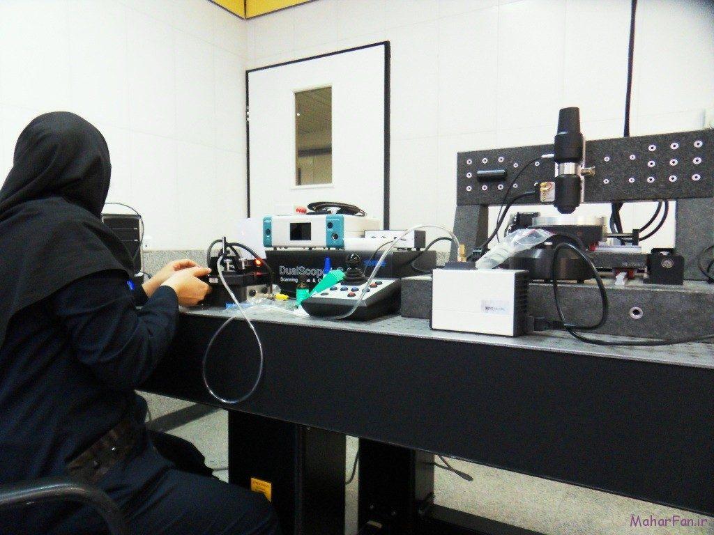 میکروسکوپ پروبی روبشی دانشگاه شریف 2