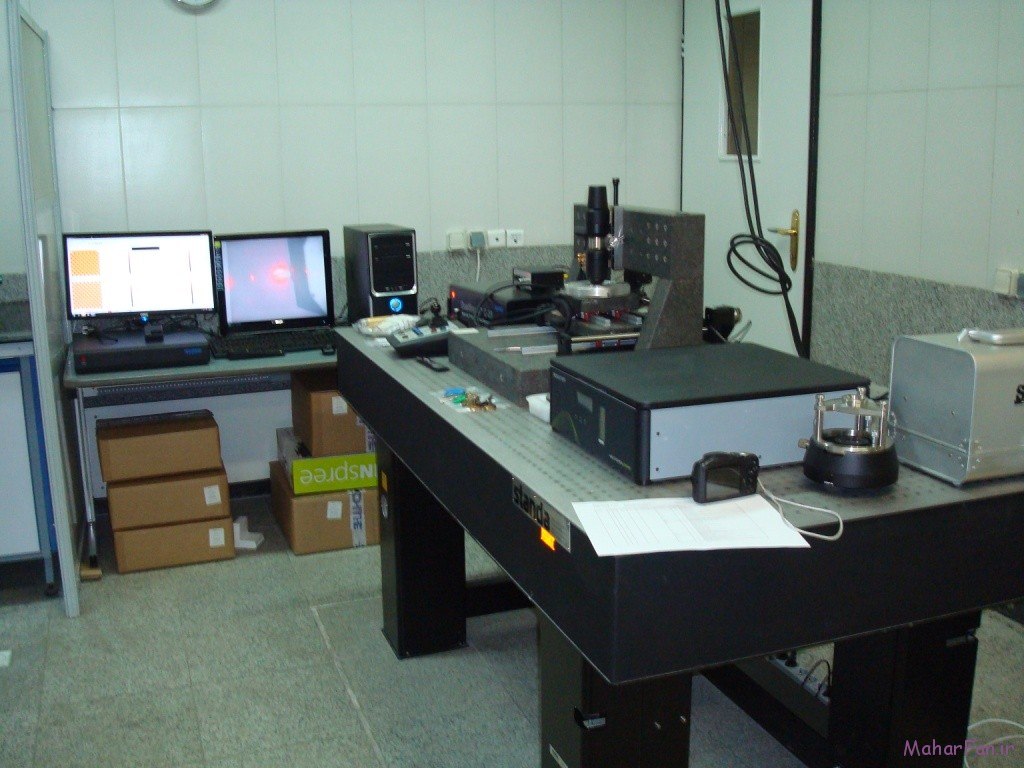 میکروسکوپ پروبی روبشی دانشگاه شریف