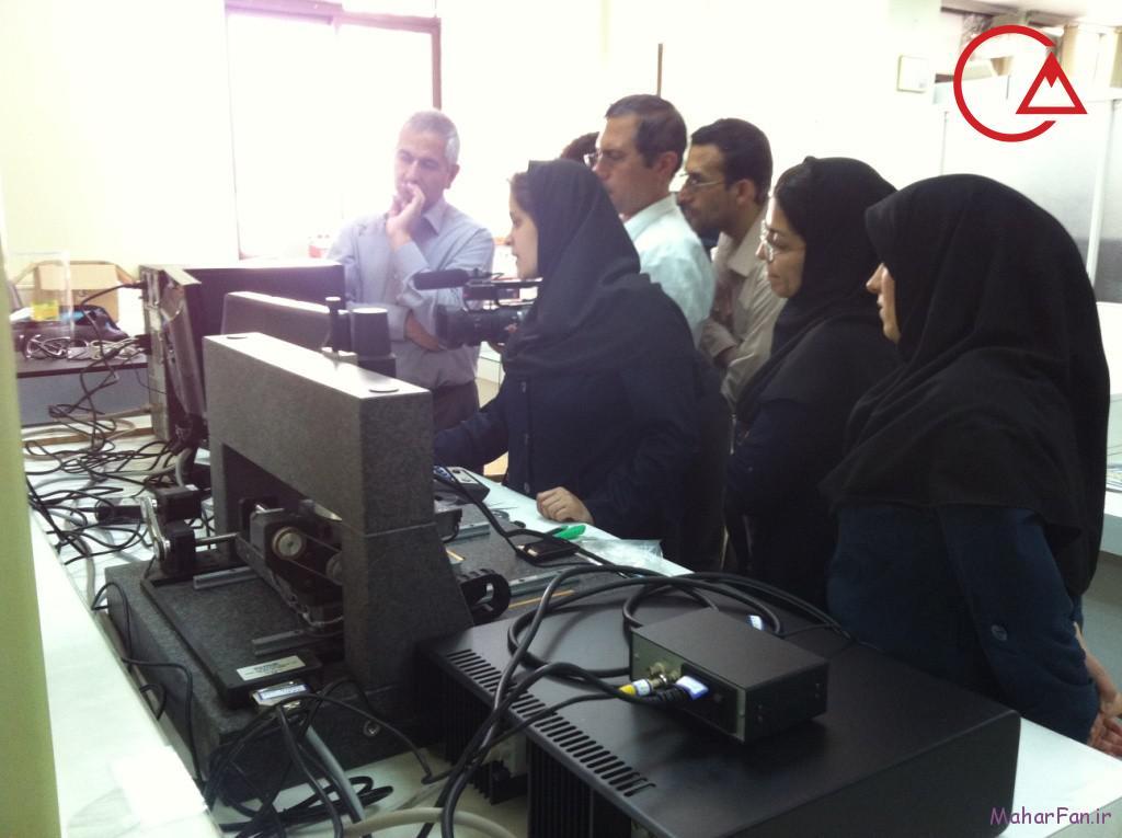 میکروسکوپ پروبی روبشی دانشگاه کاشان