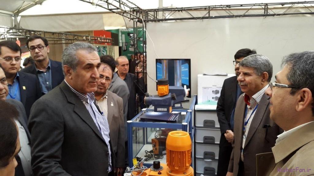 بازدید مدیرعامل ملی حفاری از ششمین نمایشگاه نفت گاز پالایش پتروشیمی اهواز خوزستان