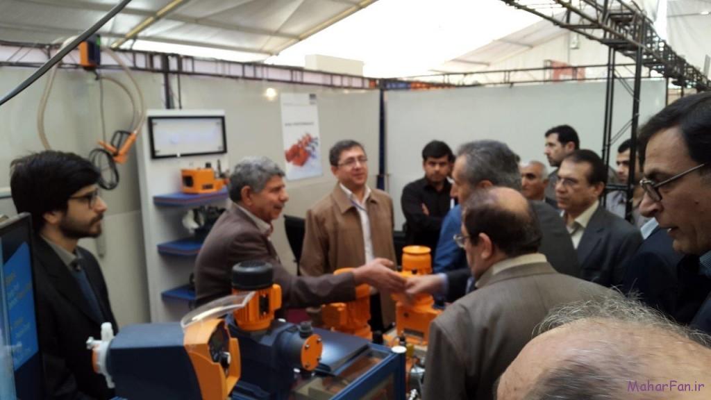 بازدید مدیرعامل ملی حفاری از ششمین نمایشگاه نفت گاز پالایش پتروشیمی اهواز خوزستان 3