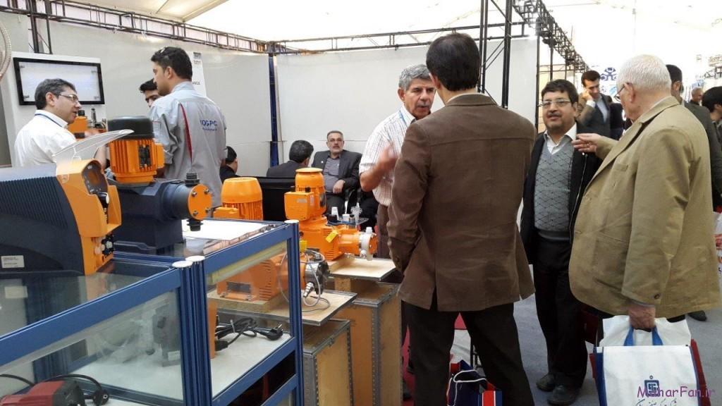 نمایشگاه نفت گاز پالایش پتروشیمی اهواز خوزستان 8