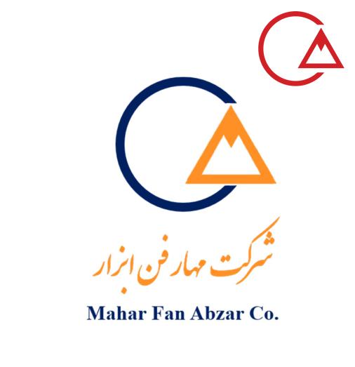 Mahar Fan Logo blue orange