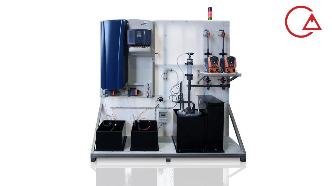 سیستم تصفیه آب تزریق دی اکسید کلر