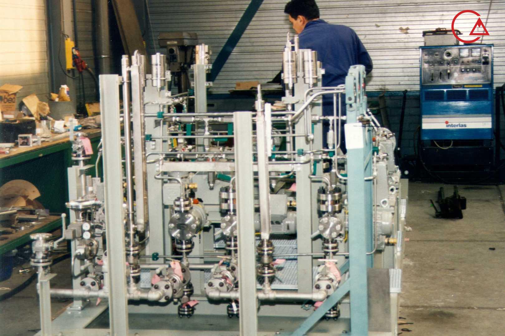 پکیج بودارکننده گاز (ادورایزر)