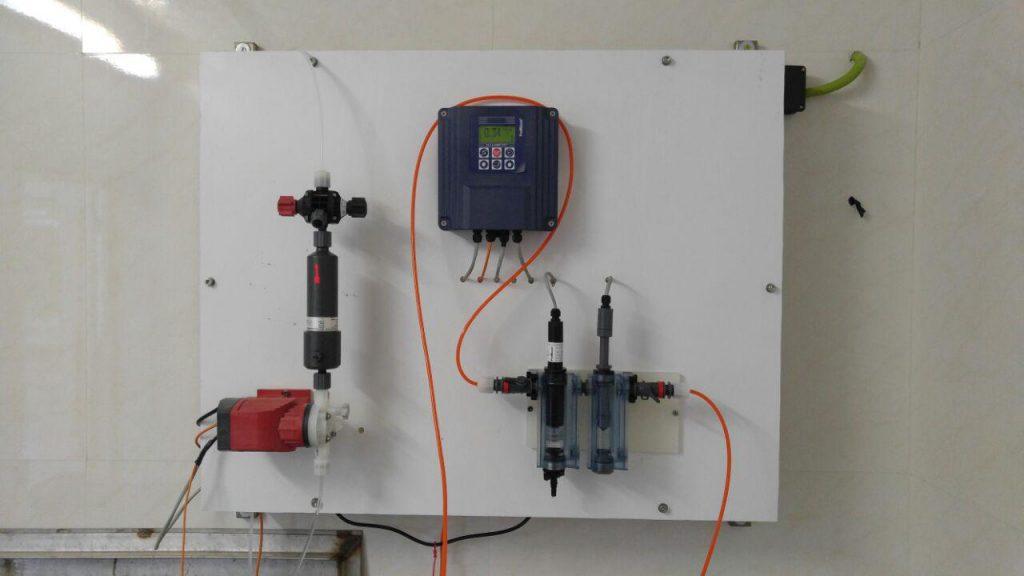 سیستم آنلاین تزریق کلر به آب آشامیدنی (4)