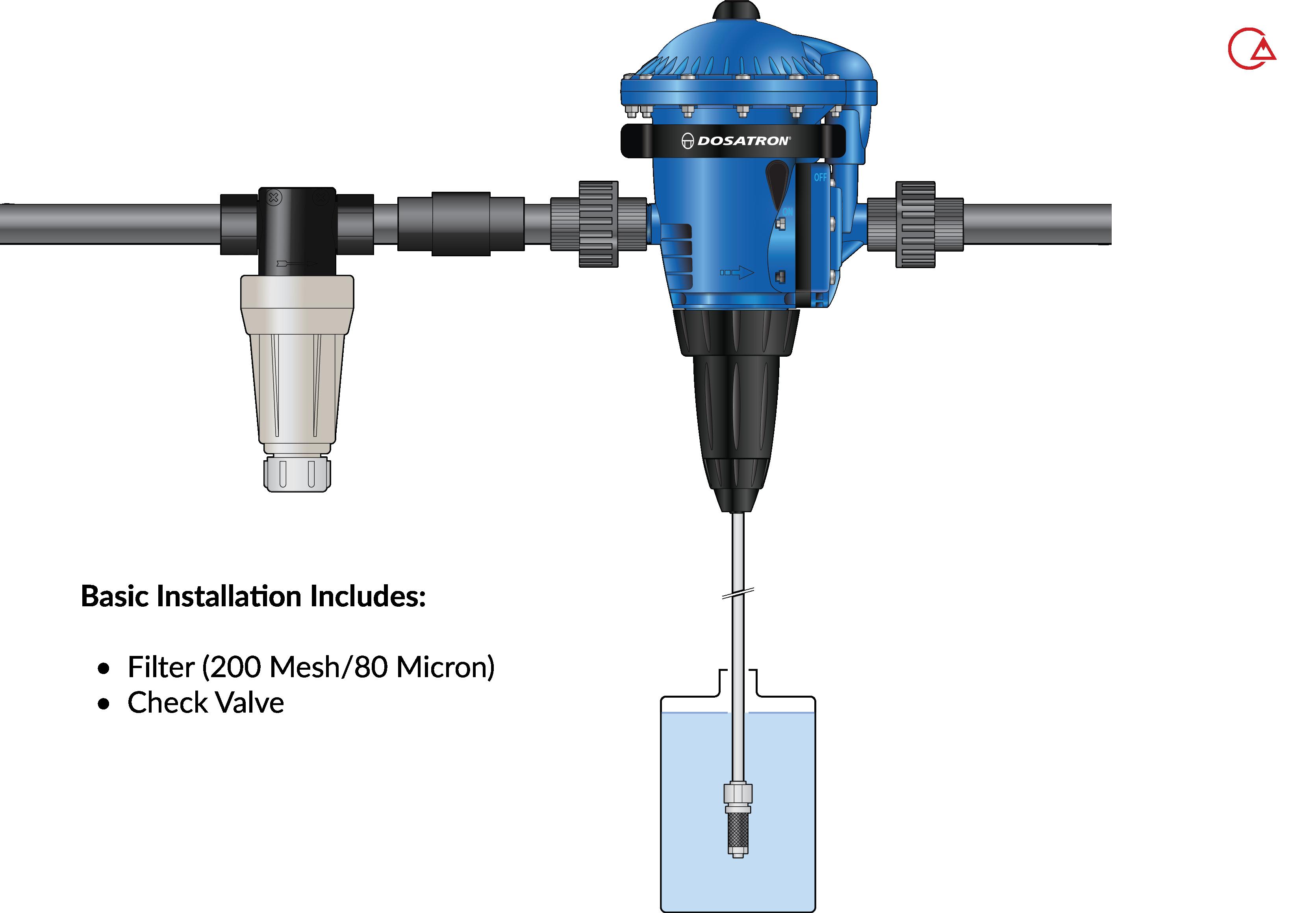 پمپ تزریق نسبی - آسان ترین نحوه نصب و اجزای آن