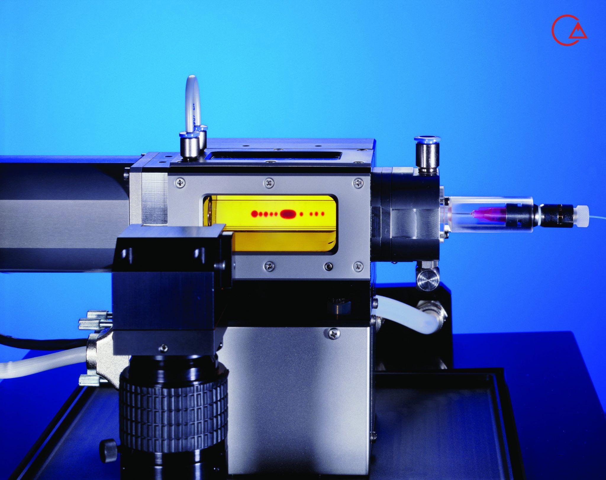 دستگاه اندازه گیری خواص سیالات قطره چرخان SVT Dataphysics