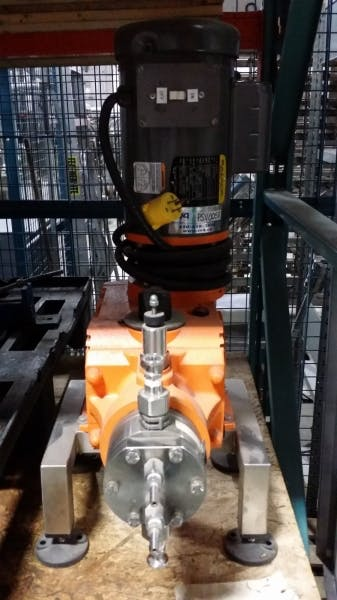 هیتر هد دوزینگ پمپ هایدرو پرومیننت dosing pump hydro