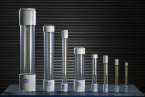 سیلندر کالیبراسیون حجم و ظرفیت های مختلف میلی لیتر مدرج