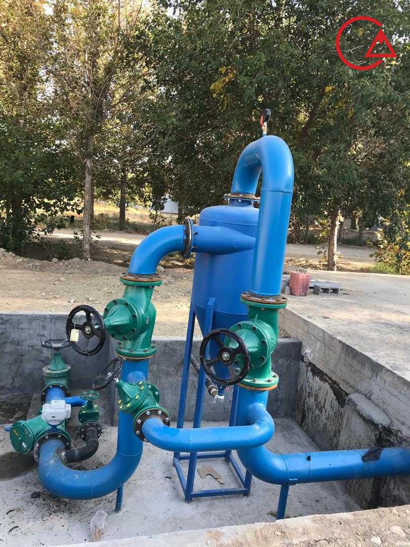 هیدروسیکلون نصب شده در سایت ایران