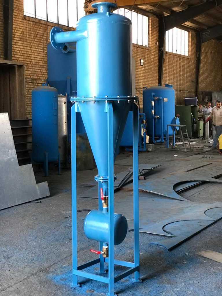 ساخت هیدروسیکلون در ایران