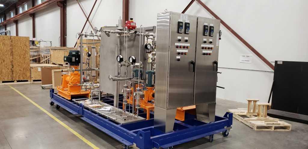 پکیج تزریق مواد شیمیایی با دوزینگ پمپ نفت و گاز API 675