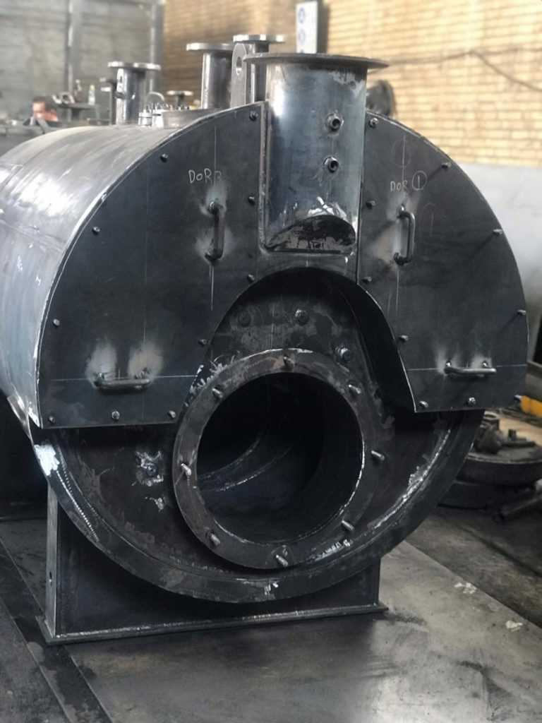 ساخت دیگ بخار بویلر در ایران