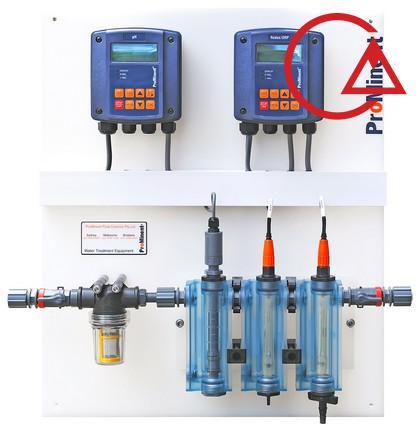 سیستم کنترل pH , ORP آنلاین
