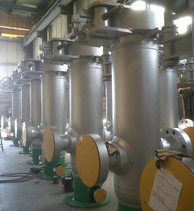 فیلتر گاز خشک عمودی