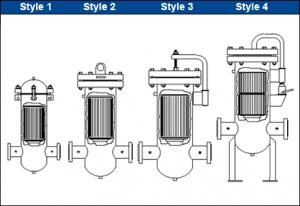 دیزاین فیلتر گاز خشک