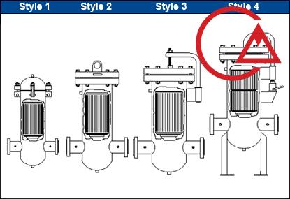 فیلتر گاز خشک (محافظت از کنتور و رگولاتور گاز)