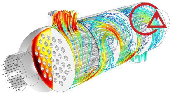 انتقال گرما در مبدل حرارتی