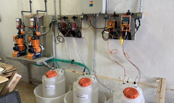 پکیج تزریق مواد شیمیایی و دوزینگ پمپ های بتا گاما کانسپت سیگما