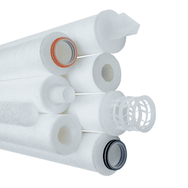 فیلتر کارتریج انواع اتصالات