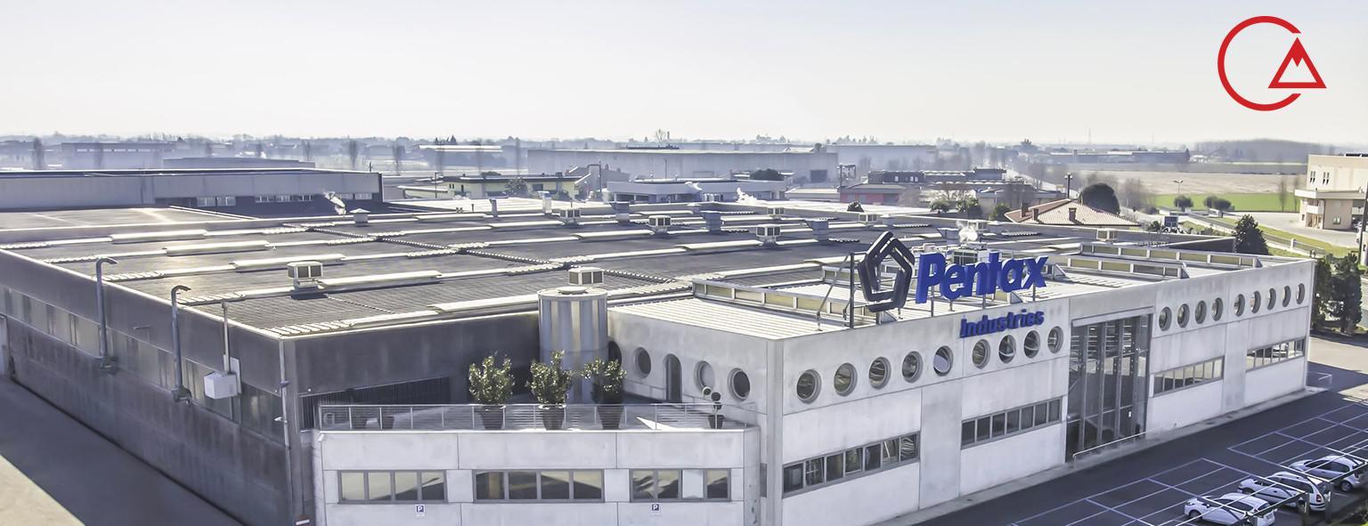 کارخانه کمپانی پنتاکس ایتالیا