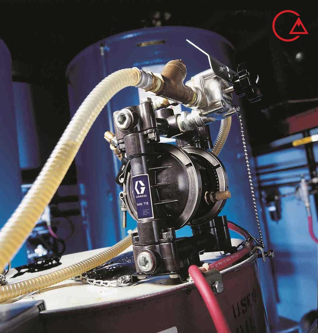 پمپ دیافراگمی پلاستیکی مواد شیمیایی گراکو هاسکی امریکا