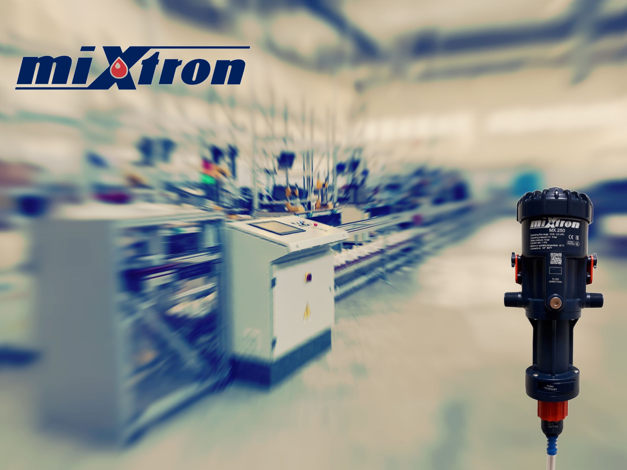 پمپ میکسترون ایتالیا Mixtron تزریق نسبی جریانی دوزینگ