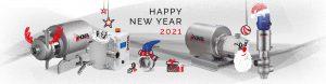 تبریک سال نو پمپ انوکسپا Inoxpa 2021